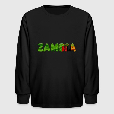 Zambia - Kids' Long Sleeve T-Shirt