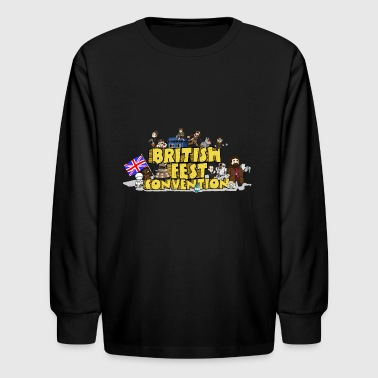 Britishfest Convention - Kids' Long Sleeve T-Shirt