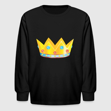 Birthday crown - Kids' Long Sleeve T-Shirt