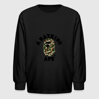 BAPE A BATHING APE - Kids' Long Sleeve T-Shirt