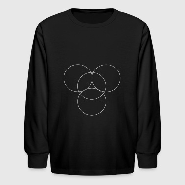 Circles - Kids' Long Sleeve T-Shirt