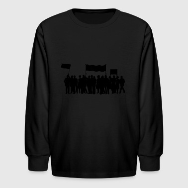 protest - Kids' Long Sleeve T-Shirt