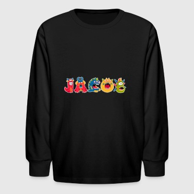Jacob - Kids' Long Sleeve T-Shirt