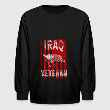 Iraq Veteran, Veteran Of Iraq, Military Veteran Gift - Kids' Long Sleeve T-Shirt
