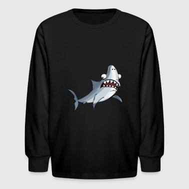 shark - Kids' Long Sleeve T-Shirt