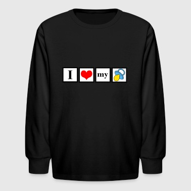 love my pacifier - Kids' Long Sleeve T-Shirt