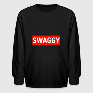 Swaggy - Kids' Long Sleeve T-Shirt