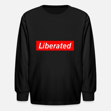 Liberals Liberated - Kids' Longsleeve Shirt