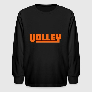 2541614 15081041 volley - Kids' Long Sleeve T-Shirt