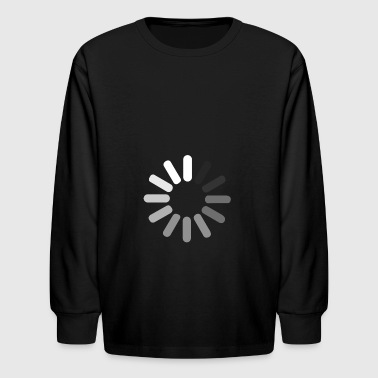 Loading loading and loading - Kids' Long Sleeve T-Shirt