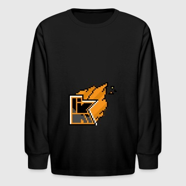 Kwebbelkop - Kids' Long Sleeve T-Shirt