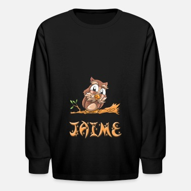 Jaime Jaime Owl - Kids' Long Sleeve T-Shirt