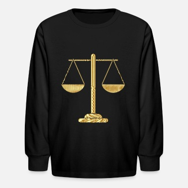 In Justice justice - Kids' Long Sleeve T-Shirt