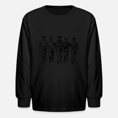 Ww1 soldiers - Kids' Long Sleeve T-Shirt