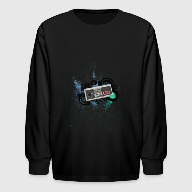 Nintendo C Controller - Kids' Long Sleeve T-Shirt