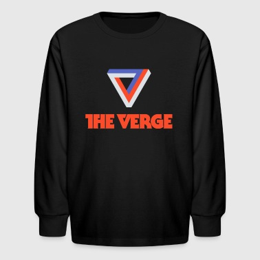 V and txt - Kids' Long Sleeve T-Shirt