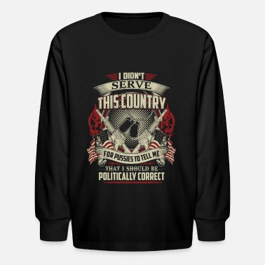 Countries THIS COUNTRY - Kids' Longsleeve Shirt