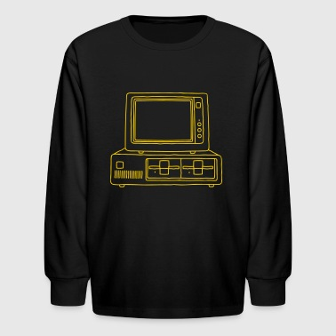 PC Computer - Kids' Long Sleeve T-Shirt