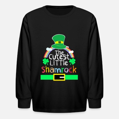 St Patricks Day Kids St patricks Day Shirts for kids Apparels - Kids' Long Sleeve T-Shirt