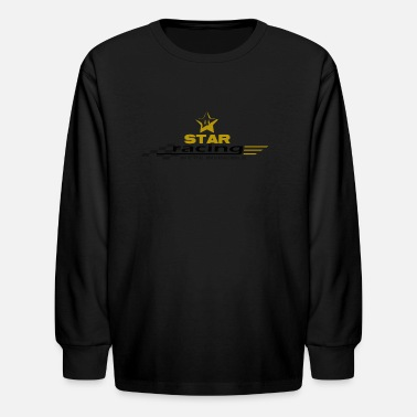 Mario-star Star Racing - Kids' Longsleeve Shirt