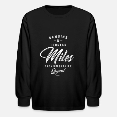 Miles Miles - Kids' Long Sleeve T-Shirt