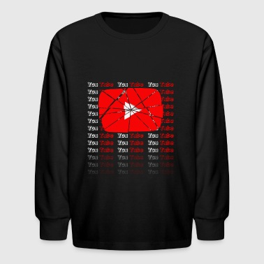 YOUTUBE - Kids' Long Sleeve T-Shirt