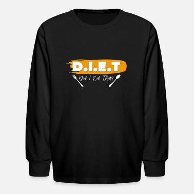 Diet Diet - Kids' Longsleeve Shirt