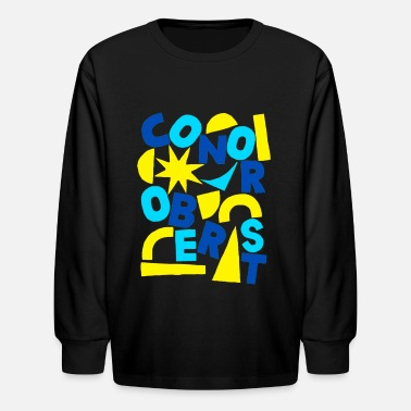 Fast Title of Calligraphy Creativity Text Quotes - Kids' Longsleeve Shirt