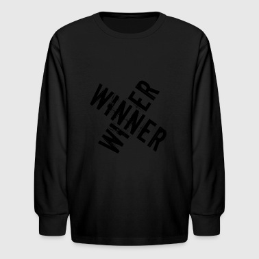 winner winner - Kids' Long Sleeve T-Shirt