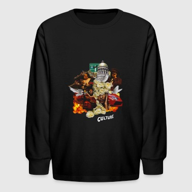 Culture - Kids' Long Sleeve T-Shirt