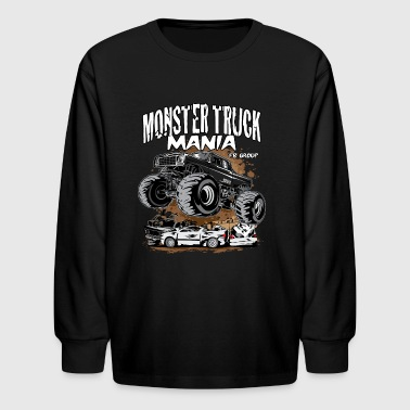 Monster Truck Mania Group - Kids' Long Sleeve T-Shirt