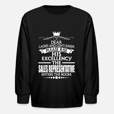 Sales Representative SALES REPRESENTATIVE - EXCELLENCY - Kids' Longsleeve Shirt