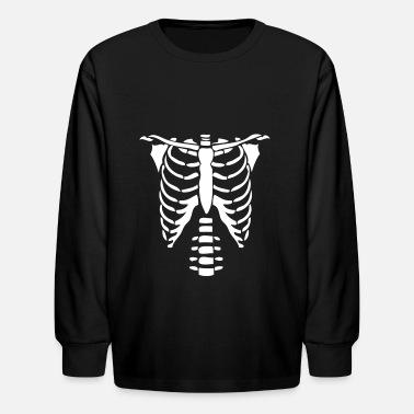 d10c714c33c Skeleton Torso Halloween Costume T-shirts Kids  T-Shirt