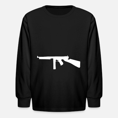 1928ac Thompson submachine gun gift - Kids' Longsleeve Shirt