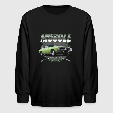 Plymouth Muscle - Kids' Long Sleeve T-Shirt
