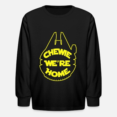 Chewie, we're home-falcon - Kids' Longsleeve Shirt