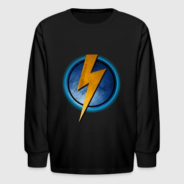 Bolt Vintage - Kids' Long Sleeve T-Shirt
