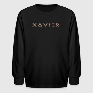 XAVIER GOLD EDITION - Kids' Long Sleeve T-Shirt