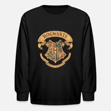 Harry Potter Hogwarts Coat of Arms - Kids' Longsleeve Shirt