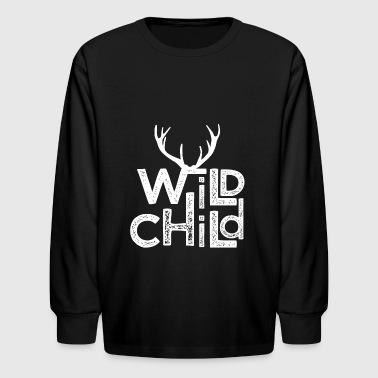 Wild Child Vintage - Kids' Long Sleeve T-Shirt