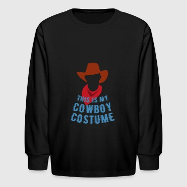Western Movie Fan Cowgirl Shirt Gift Cowboy - Kids' Long Sleeve T-Shirt