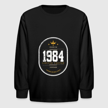 Made In 1984 Limited Edition Vintage - Kids' Long Sleeve T-Shirt