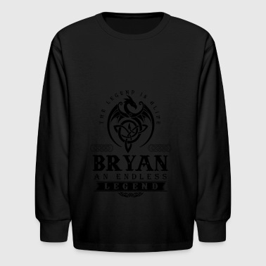 BRYAN - Kids' Long Sleeve T-Shirt