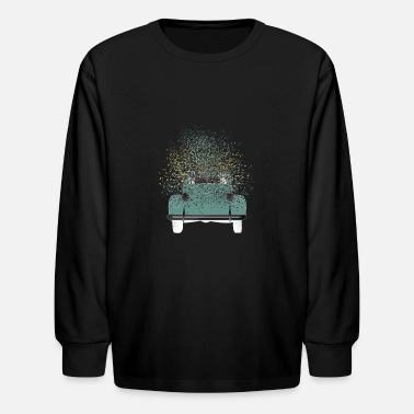 Car Vintage Car - Kids' Longsleeve Shirt