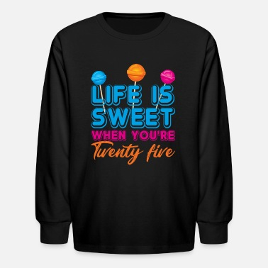 Birthday Party 25. Birthday - Kids' Longsleeve Shirt