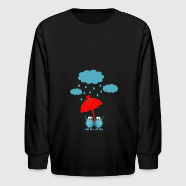 Rain - Kids' Long Sleeve T-Shirt