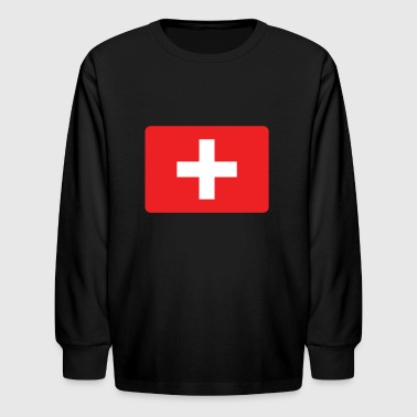 SWISS FRANCS - SWITZERLAND IS THE NUMBER 1 - Kids' Long Sleeve T-Shirt