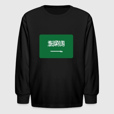 SAUDI ARABIA - Kids' Long Sleeve T-Shirt