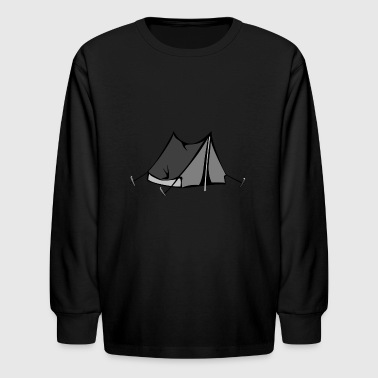 Tent - Kids' Long Sleeve T-Shirt