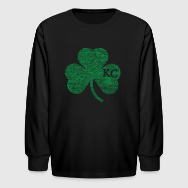 Kansas City Shamrock St. Patrick's Day St. Paddy's - Kids' Long Sleeve T-Shirt
